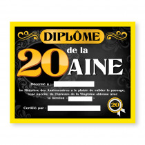 CADRE DIPLOME 20AINE H