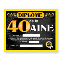 CADRE DIPLOME 40AINE H