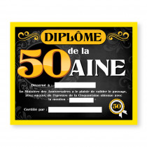 CADRE DIPLOME 50AINE H