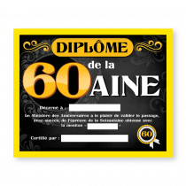 CADRE DIPLOME 60AINE H
