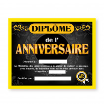 CADRE DIPLOME  ANNIVERSAIRE H