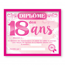 CADRE DIPLOME 18ANS F