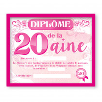CADRE DIPLOME 20AINE F