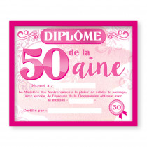 CADRE DIPLOME 50AINE F
