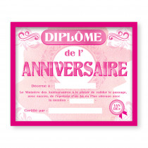 CADRE DIPLOME ANNIVERVAIRE F