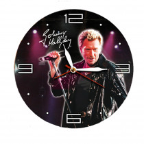 HORLOGE JOHNNY FOND NOIR