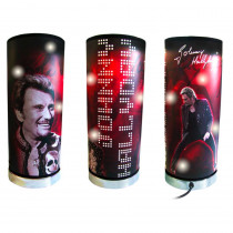 LAMPE JOHNNY TETE DE MORT