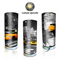 LAMPE CYLINDRE NEW YORK PM/
