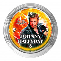 HORLOGE JOHNNY NEON JAUNE