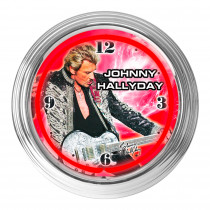 HORLOGE JOHNNY NEON ROUGE