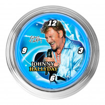 HORLOGE JOHNNY NEON BLEU