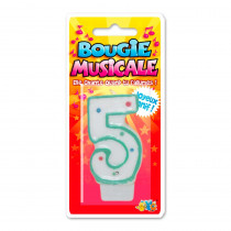BOUGIE MUSICALE 5