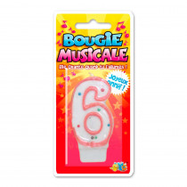BOUGIE MUSICALE 6
