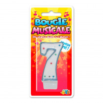BOUGIE MUSICALE 7