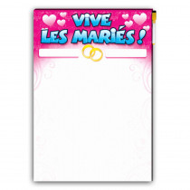 TOILE A SIGNER MARIAGE GM