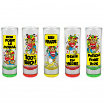 PACK 5 SHOOTERS RASTA