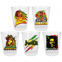 PACK 5 VERRE SHOOTER JAMAICA
