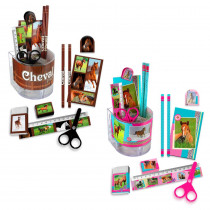 SET PAPETERIE CHEVAL 8PCS