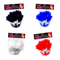 MASQUE A/ PLUMES 4COL