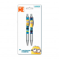 PACK 2 STYLO BILLE MINIONS/