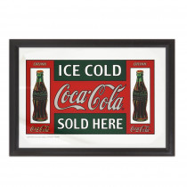 MIROIR COCA COLA ICE COLD....