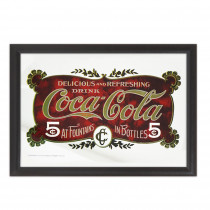 MIROIR COCA COLA 5 c AT F....