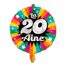 BALLON METAL 20AINE