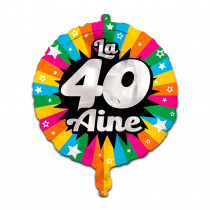 BALLON METAL 40AINE