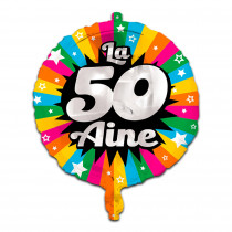 BALLON METAL 50AINE