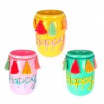 VASE BOCAL HAPPY 3COL