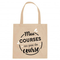 "SAC TOTE BAG ""MES COURSES..."""