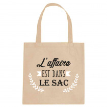 "SAC TOTE BAG ""L AFFAIRE..."""