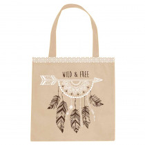"SAC TOTE BAG ""WILD AND FREE"""