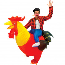 COSTUME AUTO GONFLABLE COQ