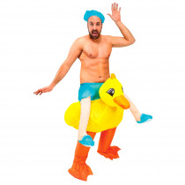 COSTUME AUTO GONFLABLE CANARD