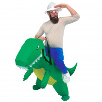 COSTUME AUTO GONFLABLE DINOSAURE