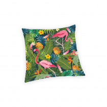 HOUSSE COUSSIN FLAMANT ROSE