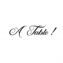"STICKER PM ""A TABLE"""