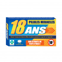 PILULES MIRACLES 18 ANS