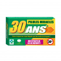 PILULES MIRACLES 30 ANS