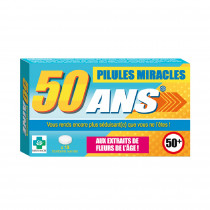 PILULES MIRACLES 50 ANS