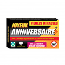 PILULES MIRACLES ANNIVERSAIRE