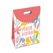 "POCHETTE RABAT MM ""PLAISIR.."" TROPICAL"