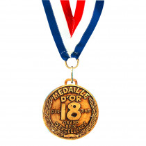 MEDAILLE D OR 18 ANS -Ex : B4783A