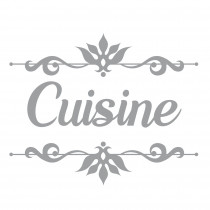 "STICKER PORTE ""CUISINE"""