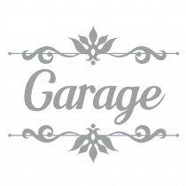 "STICKER PORTE ""GARAGE"""