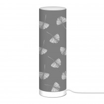 LAMPE CYLINDRIQUE 63CM GINKGO