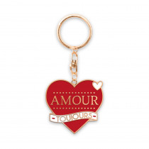 """PORTE CLE """"AMOUR TOUJOURS"""""""