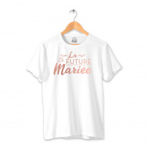 """T SHIRT """"FUTURE MARIEE"""" TAILLE L"""